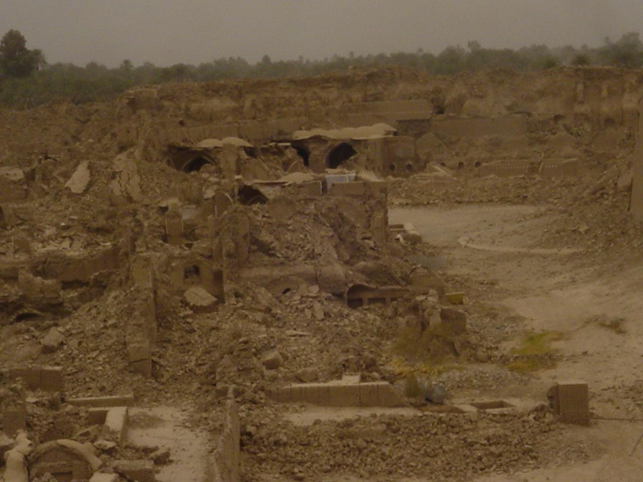 Case Di Mattoni Di Fango : Quando fu distrutta bam città d arte la torre di babele
