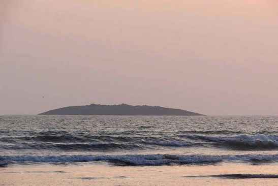 Island appears after Pakistan Earthquake