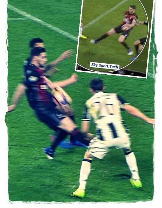 Calcio: Serie A; Juventus-Milan